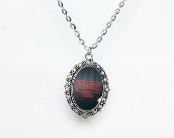 Strange Girl Stranger Things Necklace