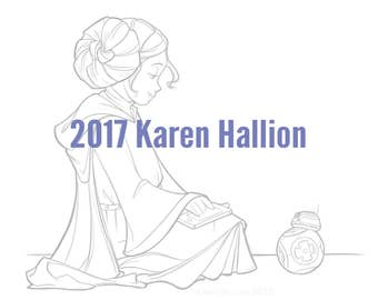 New Toy Coloring Page - Digital Download