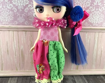 Middie Blythe Romper - Cupcakes and Spots