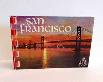 SAN FRANCISCO Photo Picture Book Vintage Souvenir - San Francisco, California Sights - Miniature