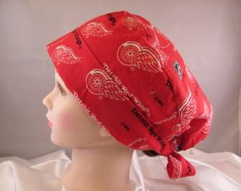 Women's Pixie Scrub Hat Red Wings