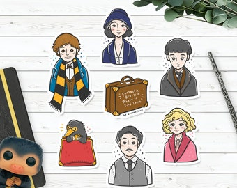 Sticker Pack : Fantastic Beasts