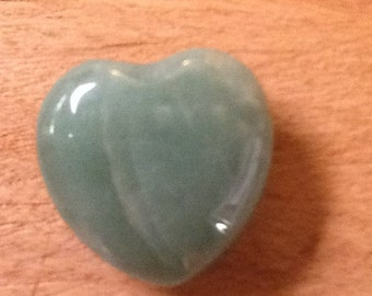 Semi-Precious Heart Stone - This Stone Heart Will Rock on Forever