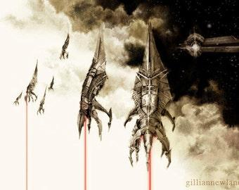 Mass Effect 11x17 print