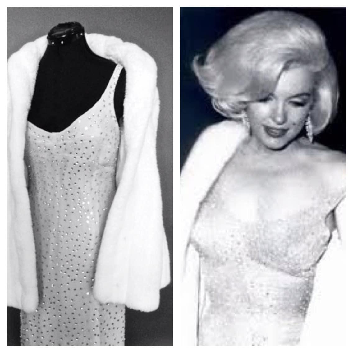 Marilyn Monroe Replica Dress Happy Birthday Mr. President