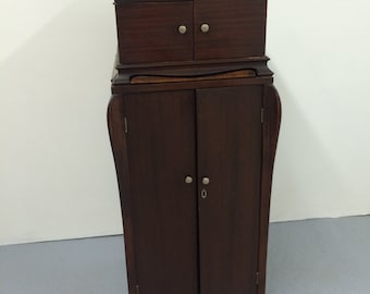 Victor Victrola 2-Part Record Player and Phonograph