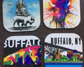 Buffalo Coasters, Illustrations and Designs from the Collection