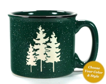 Family Trees Mug - Choose Your Cup Color & Match your Family Members