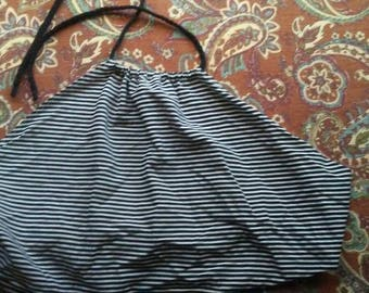 Striped Halter Top
