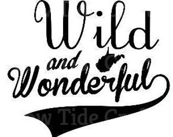 Wild and Wonderful Decal