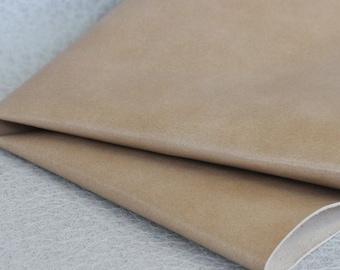 Light Tan Genuine Leather