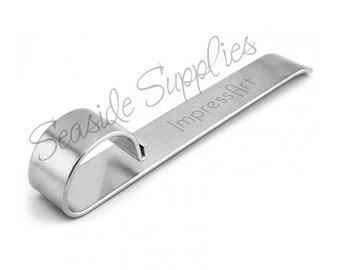 ImpressArt Bracelet Bending Bar, Impress Art Bracelet Maker, Bends Metal Strips for Easy Bracelets!  Use with Aluminum, Pewter, Brass, etc!