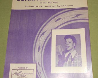 1949 Sheet Music ~ Bonaparte's Retreat Recorded by Kay Starr