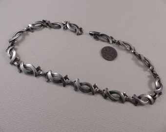 Vintage Reveriano Castillo Sterling Taxco Necklace
