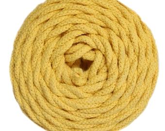 Cotton Air 100% cotton natural honey yellow
