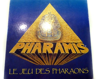 French Board Game Pharamis 1991 The Game Of the Pharaohs