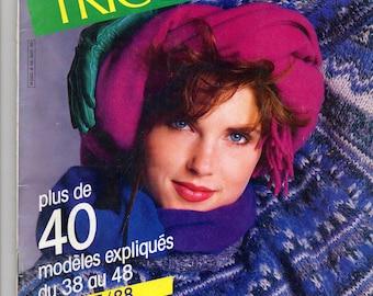 Knitting women fashion and winter catalog