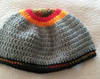 Uniquely Designed Crochet Hat for Men