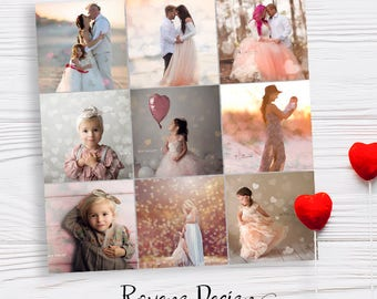 Bokeh Photo Overlays - Photography Overlays - Instant Download