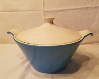 Blue Heaven covered serving dish