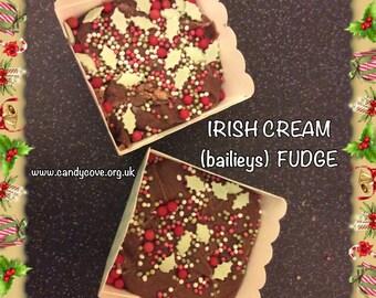 Irish Cream (Baileys) Fudge