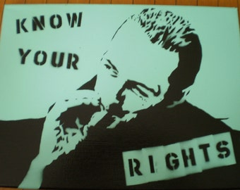 """Joe Strummer (The Clash) """"Know Your Rights"""""""