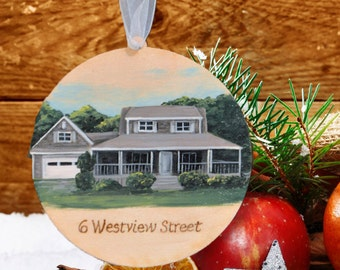 First Home Ornament, Childhood Home, House Ornament