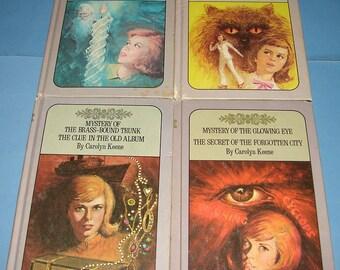 Nancy Drew Twin Thriller #9/10, 15/16, 17/24, and 51/52