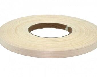 """maple pre-glued Wood veneer edgebanding (1/2"""" to 3""""x250')"""