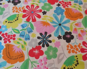Pretty Poppy  Deleon Design Group - Alexander Henry Fabric 1 Yard