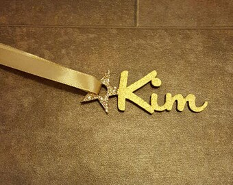 5cm Personalised Wooden Gift Tags, Name Gift Tags, Wooden Gift Tags, Christmas Gift Tags