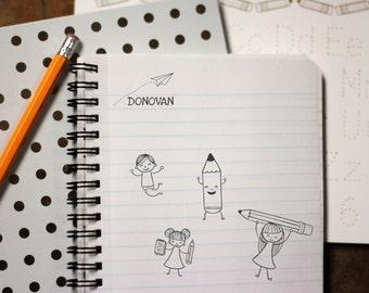 Self Inking Kids Stamp, Personalized Kids Stamp, Custom Stamp, Kids Name Stamp, This Book Belongs to Stamp --12164-PI12-000