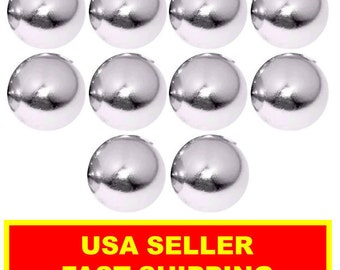 1/2 Inch Super Strong Neodymium Rare Earth Sphere Magnet (10 Pack)