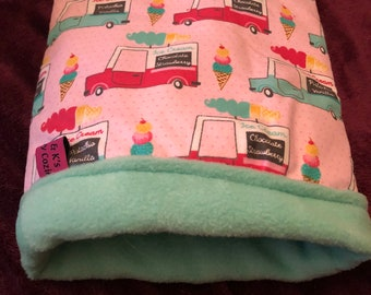 Ice cream truck snuggle sack