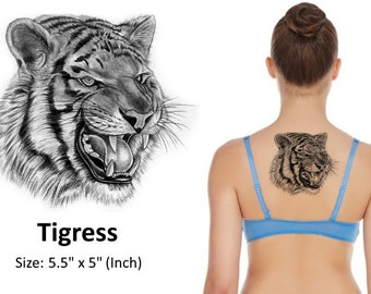 TIGRESS - Temporary Tattoo