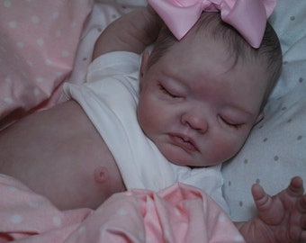 MADE TO ORDER Reborn Avery ooak doll lifelike fake art artist Baby