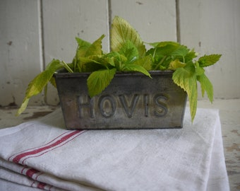 Salvaged Vintage Hovis Loaf Tin - Circa 1950s - Loaf Pan - Vintage Loaf Tin - Baking Tin - Vintage Loaf Pan - Baking Pan - Hovis Loaf Tin