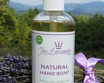 Natural Lavender Hand Soap