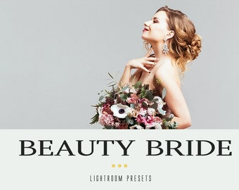 Beauty bride professional lightroom presets