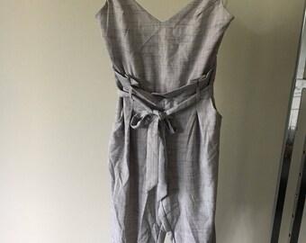 Grey Jumpsuit