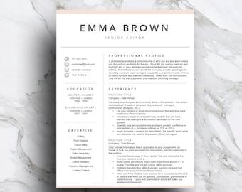 Makeup artist resume Etsy