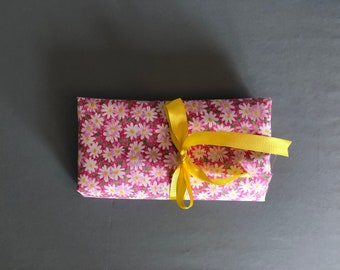 Floral Makeup Brush Bag
