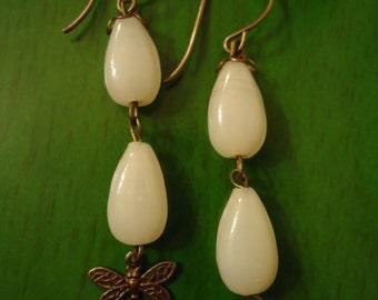 Bohemian Inner Spirited Vintage Inspired Drop Earrings, One Of A KInd