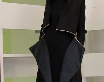 Coretta long vest-coat