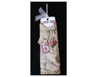 Hope - Bookmark, Bookmarkers, Hang Tag