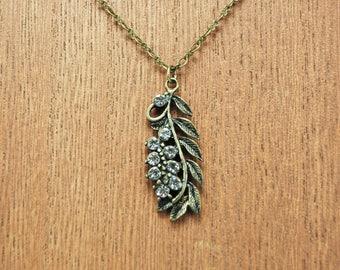 Jeweled Vine Necklace