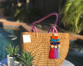 handwoven purse