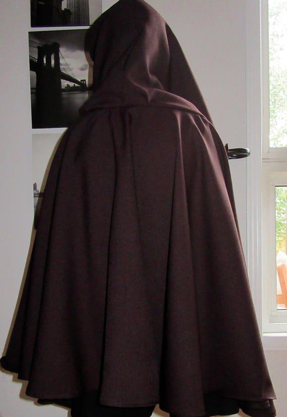 Pure Wool Cloak~viking cloak~Halloween costume~viking costume~wool cloak~winter clothes~medieval Cloak~cosplay cloak Custom make @sohoskirts lCPy6x4M
