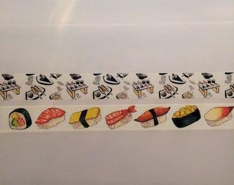 Washi Tape Samples - Sushi