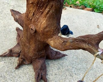 Old tree incense burner: Please read Description